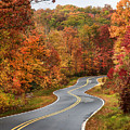 Fall Mountain Road by Jill Lang
