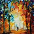 Fall New Original by Leonid Afremov