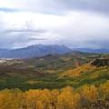Fall On Mcclure Pass by Tina Barnash