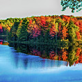 Fall On The Lake In Wisconsin by Tommy Anderson