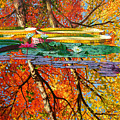Fall Reflections 2 by John Lautermilch