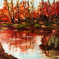 Fall Reflections by Lia  Marsman