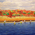 Fall Shellfishing In New England by Charles Harden