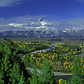 Fall Snake River Overlook Grand Tetons National Park Wyoming by Dave Welling
