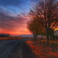 Fall Sunrise by Lynn Hopwood