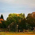 Fall Time On The Farm by Robert Pearson