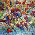 Fall Vineyard  by Luiza Vizoli