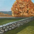 Fall Wall by Robert Harrington