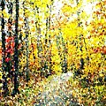 Fallen Leaves Of Autumn by Don Phillips