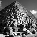 Fallen Stones At The Pyramid by Donna Corless
