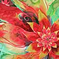 Falling Flower by Deborah Younglao