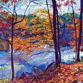 Falling Leaves by David Lloyd Glover