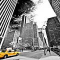 Falling Lines - Rockefeller Center by Thomas Splietker