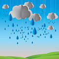 Falling Rain by Prakaisak Rojprasert