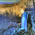 Falling Spring Falls by Don Mercer