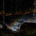 Falling Water Abstract by Chris Flees