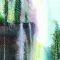Falling Waters 1 by Anil Nene