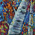 Falll In Rockies - Left Panel by OLena Art Brand