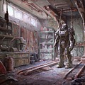 Fallout 4 Armour by Movie Poster Prints