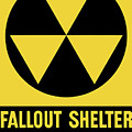 Fallout Shelter Sign by War Is Hell Store