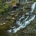 Falls Creek Gorge Trail by Karen Jorstad