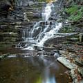 Falls Creek Gorge Trail Reflection by Karen Jorstad