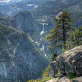 Falls From Glacier Point by Michael Kirk