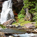 Falls Glacier National Park1 by Hughes Country Roads Photography