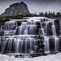 Falls In Glacier 1 by Timothy Hacker