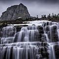 Falls In Glacier by Timothy Hacker