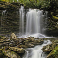 Falls Of Hills Creek 2  by John  Hannan