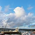 Falmouth Docks Cornwall by Terri Waters
