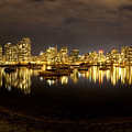 False Creek At Night by Mery Moon