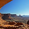 False Kiva Moab Utah by Daryl L Hunter