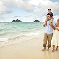 Family At Lanikai I by Brandon Tabiolo - Printscapes