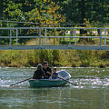 Family Boating If Forest Park by Garry McMichael