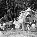 Family Camping, C.1970s by H. Armstrong Roberts/ClassicStock