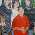 Family Portrait by Bryan Bustard