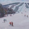 Family Ski by Dianne Panarelli Miller