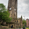 Famous Cathedral Of Manchester City In  Uk by Michalakis Ppalis