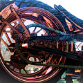 Famous Liberty Bike Copper Ny by Chuck Kuhn