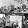 Famous New Orleans Cemeteries  by John Malone