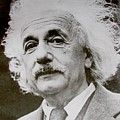 Famous Photograph Of Albert Einstein  by Pd