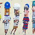 Famous Racing Sausages by Kay Novy