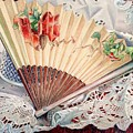 Fan And Lace by Robynne Hardison
