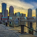 Fan Pier Boston Harbor by Susan Candelario