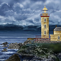 Fanad Head Lighthouse Ireland by Anne Norskog