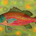 Fanciful Pink Snapper  by Shelli Fitzpatrick