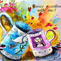Fancy A Coffee by Miki De Goodaboom