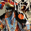 Pow Wow Fancy Dancer 1 by Bob Christopher